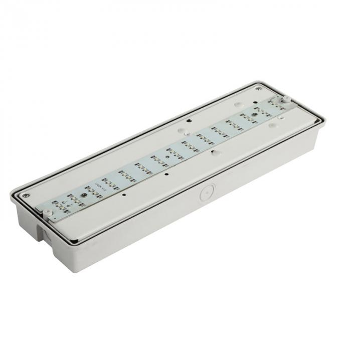 Custom Automatic Waterproof Battery Powered Emergency Exit Lights For Hospitals
