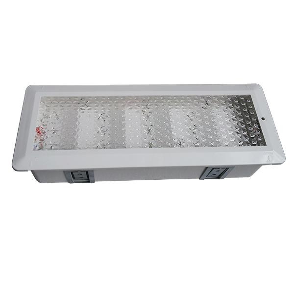 Battery Operated Wall Surface LED Rechargeable Emergency Light IP20 50Hz / 60Hz