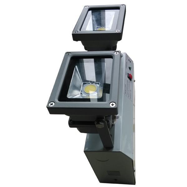 Commercial Buildings Self Testing Emergency Lights Fixture