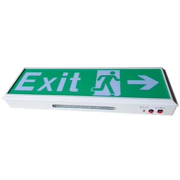 IP20 2835 SMD Led Exit Signs Wall Surface Mounted Emergency Light For Buildings