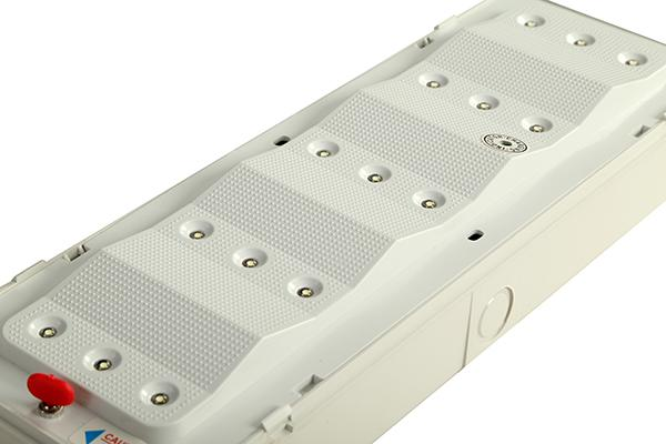 LED Fire - Retardant Standby Buildings Emergency Light Rechargeable Type High Lumens