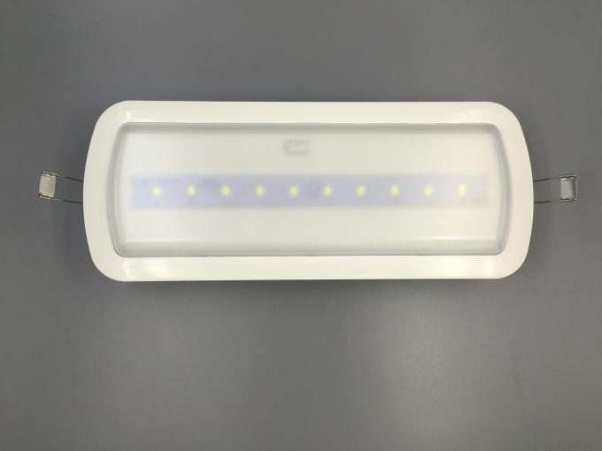 3 Hours Autonomy Battery Operated LED Ceiling Light For Emergency
