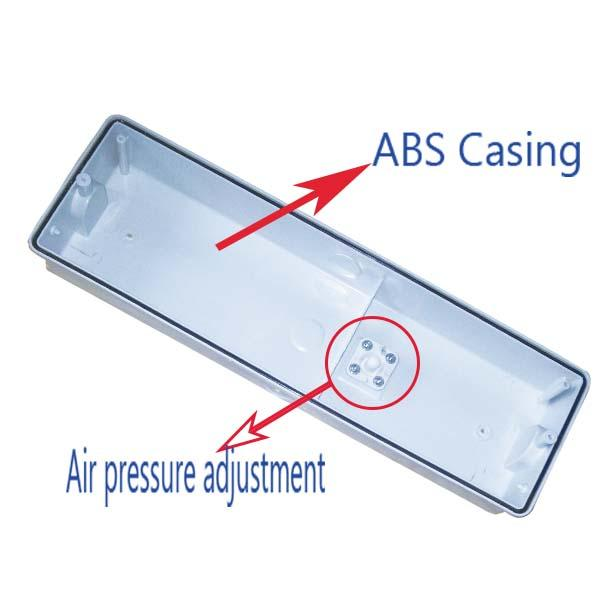 Energy Saving Led Rechargeable Emergency Light , Led Emergency Exit Lights ABS Casing