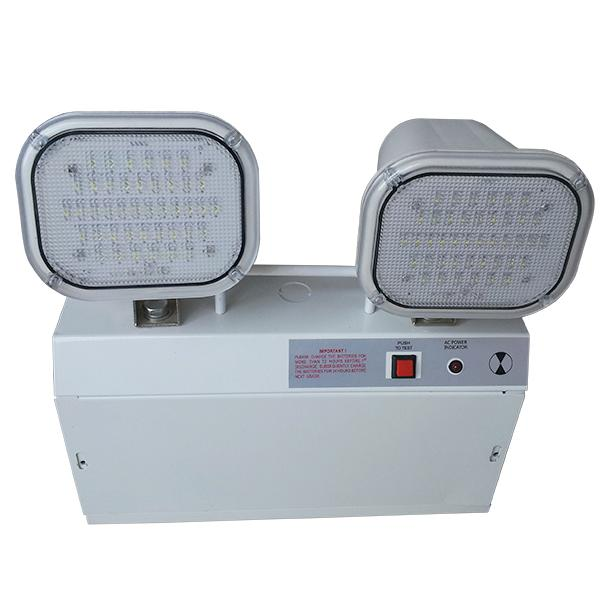 Industrial Rechargeable Surface Mount Emergency Lights With Steel Casing / PC Diffuser