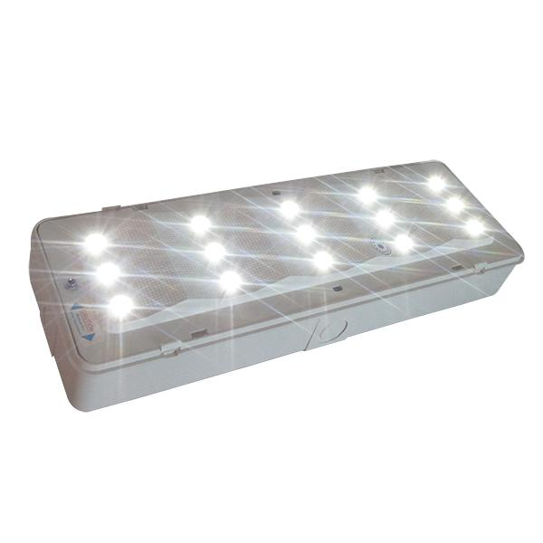 White LED Battery Rechargeable Emergency Light Maintained / Non - Maintained