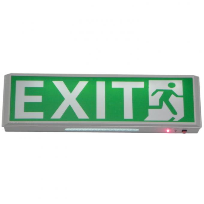 Industrial Battery Operated 10 Pcs Dip Led Exit Signs Ip20
