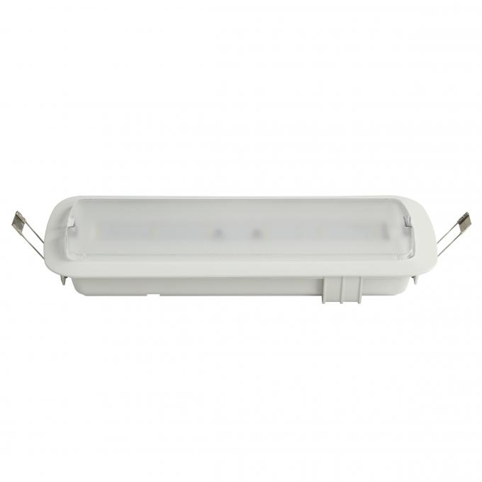 Non Maintain 200Lm Ceiling Recessed Emergency Light Led Illumination Light