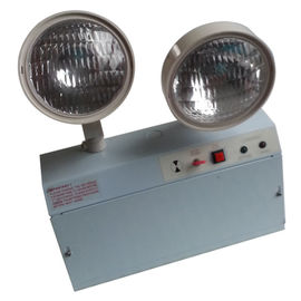3 Hours Operation Rechargeable LED Emergency Twin Spot Light Wall Mounted supplier