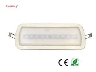 Emergency Rechargeable Led Light / Ceiling Recessed Emergency Lights With Ni - Cd Battery supplier