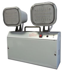 Industrial Rechargeable Surface Mount Emergency Lights With Steel Casing / PC Diffuser supplier