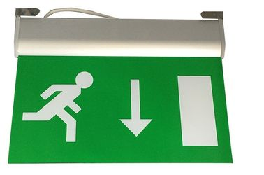China 15 PCS SMD Led Aluminum Exit Sign Ceiling Surface Suspended Emergency Light Fixture supplier
