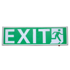 China Permanent Hanging 120mA Led Emergency Exit Sign With 3 Years Warranty supplier
