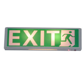 Permanent Hanging 120mA Led Emergency Exit Sign With 3 Years Warranty supplier
