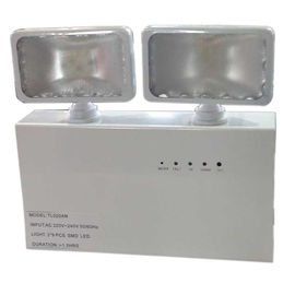 China Non - Maintained 3 Hours Operation Twin Spot Emergency Lights Battery IP20 supplier