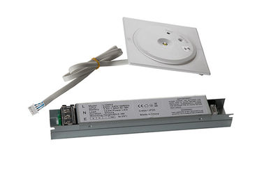 Fire  - Retardant Recessed LED Ceiling Emergency Light 3 Hours Operation