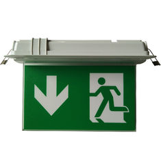 Small Size Ceiling Recessed Double-side LED Emergency Exit Sign