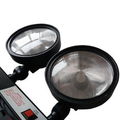 Non maintained Wall Surface Mounted Twin Spot Emergency Lights with PS Diffuser supplier