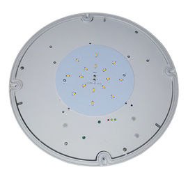 Commercial Building Round Waterproof Emergency Light Maintained With PC Diffuser supplier