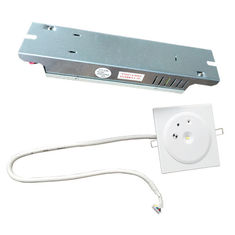IP20 Ceiling Recessed Emergency Light Battery Operated Emergency Lighting