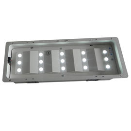 Battery Operated Recessed LED Rechargeable Emergency Light IP20 50Hz / 60Hz supplier