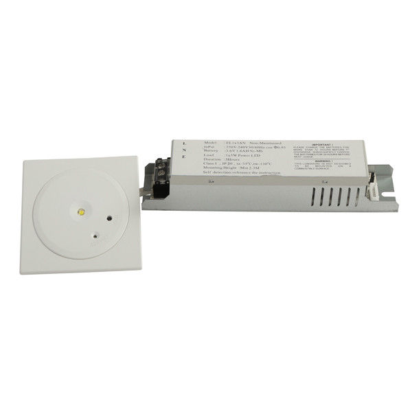 1W SMD White LED Emergency Lights For Commercial Buildings supplier