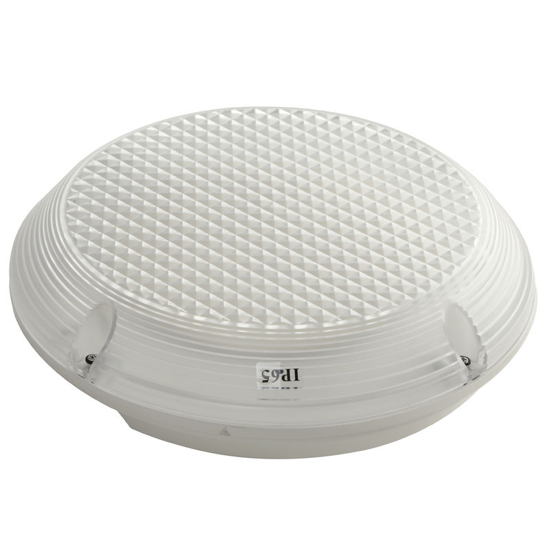 China Commercial Building Round Waterproof Emergency Light Maintained With PC Diffuser factory