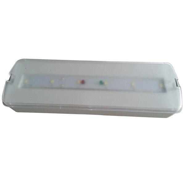 3W Maintained LED Emergency Lights 220V With Ni-cd Rechargeable Battery supplier