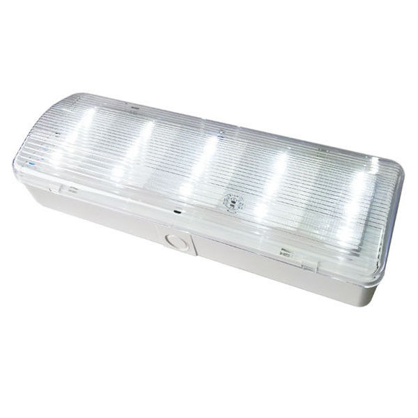 China IP20 Rechargeable Emergency Light Fixtures For Government Buildings factory