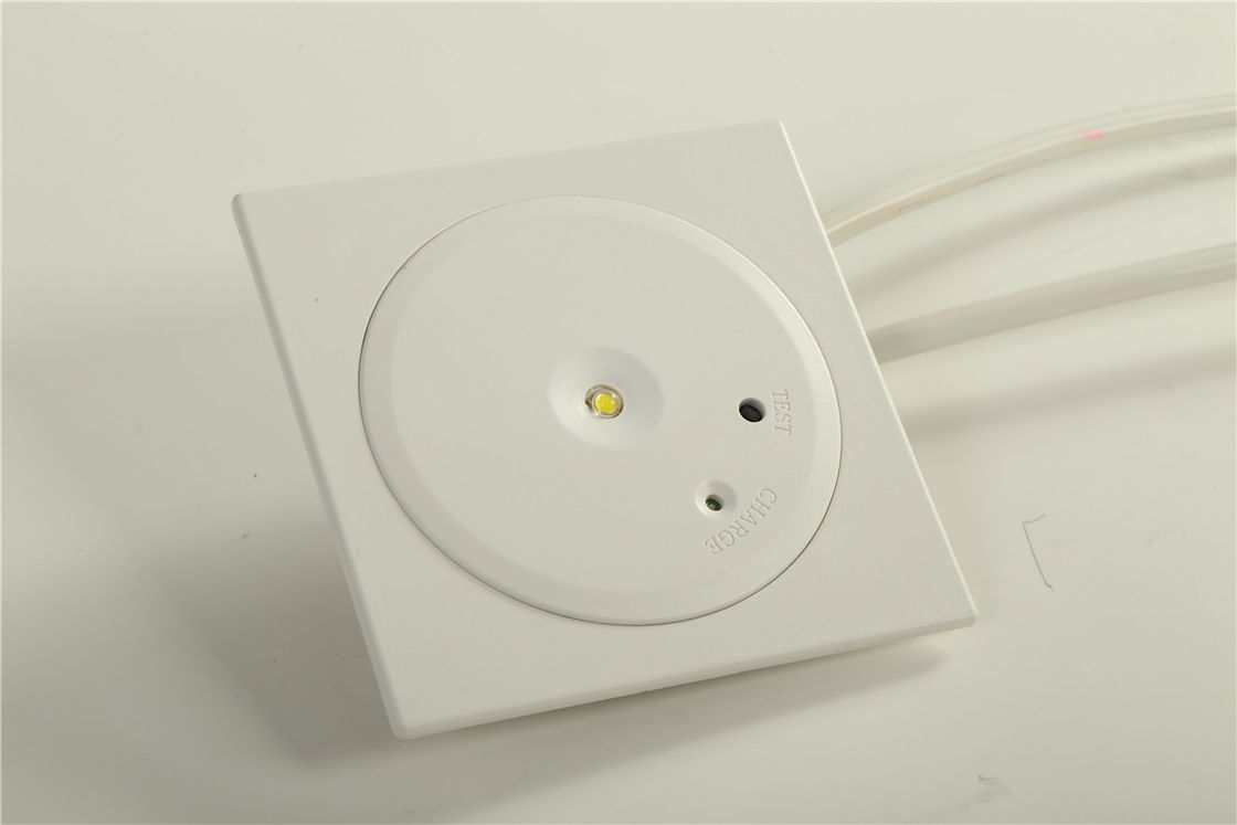 China CE Approved Recessed LED Downlights / Fire Emergency Lights 1 Watt SMD White LED factory