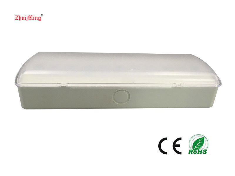 China CE Approval Battery Operated Emergency Lights With Battery Backup , Fire Resistance ABS Material factory