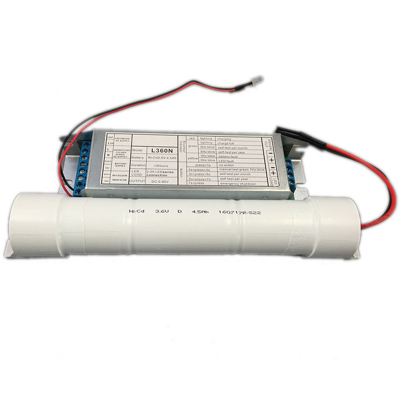 China Customized Rechargeable Emergency Conversion Kit For LED Lamps with Electronic Driver factory
