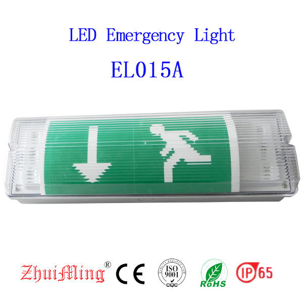 Wall Surface Mounted Waterproof Emergency Light , LED Emergency Bulkhead Light IP 65 supplier