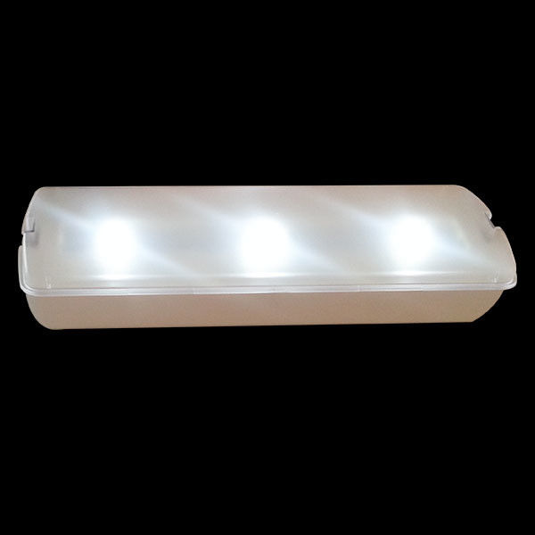 China AC Power Led Emergency Rechargeable Light With Fire Retardant ABS Casing , Light Weight factory