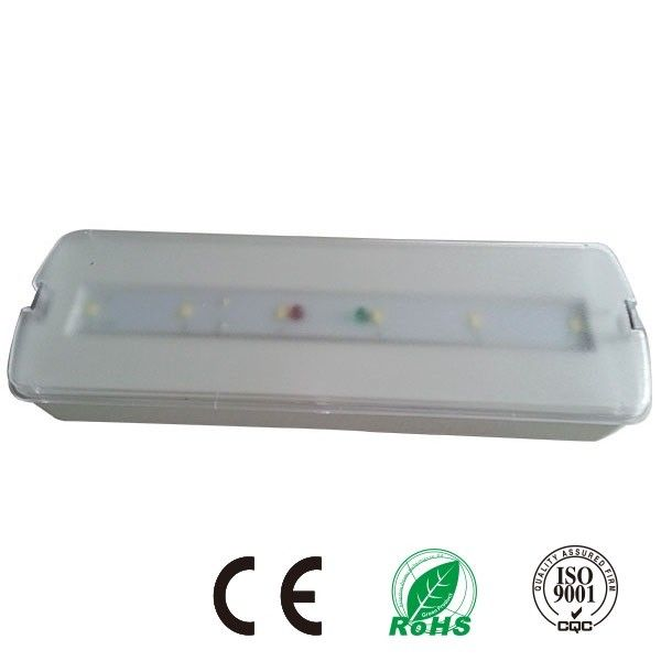 China 240V LED Battery Backup Rechargeable Emergency Light With 180 Minuters Operation factory