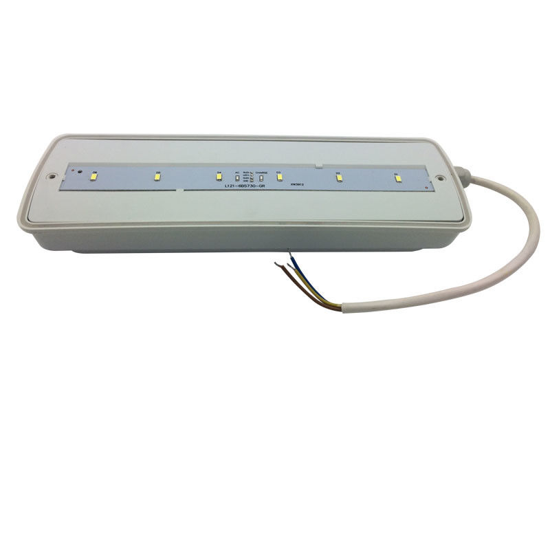 China 3 Hours Operation Rechargeable Waterproof Emergency Light Led Emergency Bulkhead IP65 factory