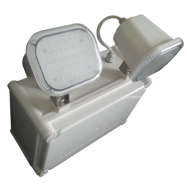 Industrial Waterproof Twin Spot Led Emergency Light With 3 Hours Autonomy