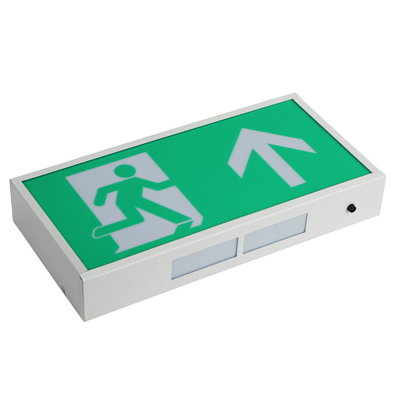China Rechargeable Led Exit Signs , Emergency Battery Powered Exit Sign Lights With 3 Years factory