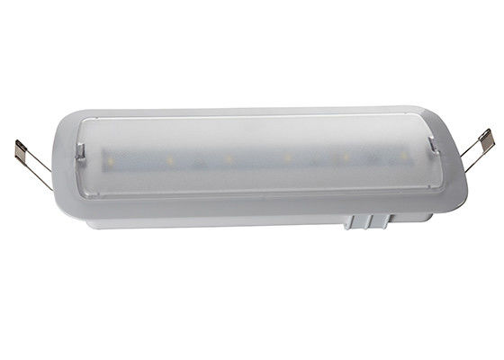 Ceiling Recessed Battery Operation LED Frosted Cover Emergency Light