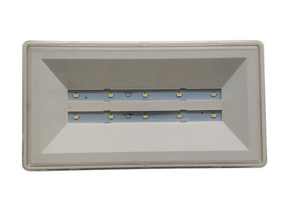 Waterproof LED Ceiling Recessed Emergency Light Bulkhead with PC Casing