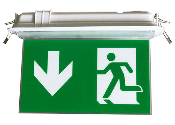Rechargeable LED Double - Side Emergency Battery Operated Exit Signage