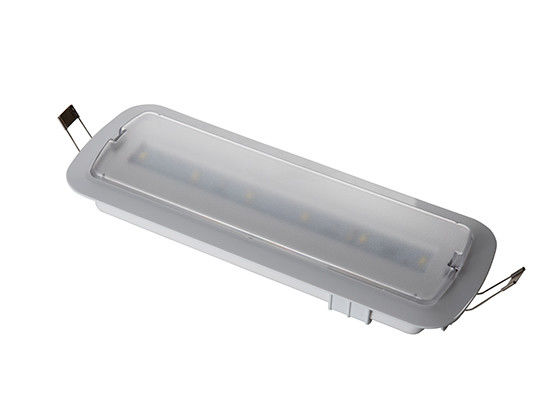 China Ceiling Recessed Emergency Light / 230V Battery Rechargeable Led Emergency Light factory
