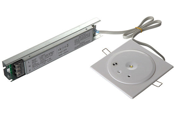 3W 3 Hours Operation LED Ceiling Emergency Light Recessed Donwlight Long Life