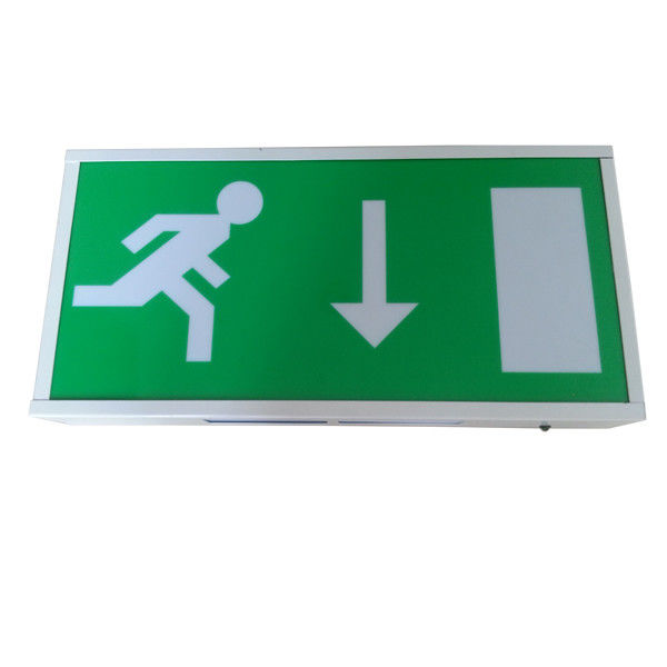 China Rechargeable Ni-cad Battery LED Emergency Exit Sign Light, Running Man Escape Sign factory