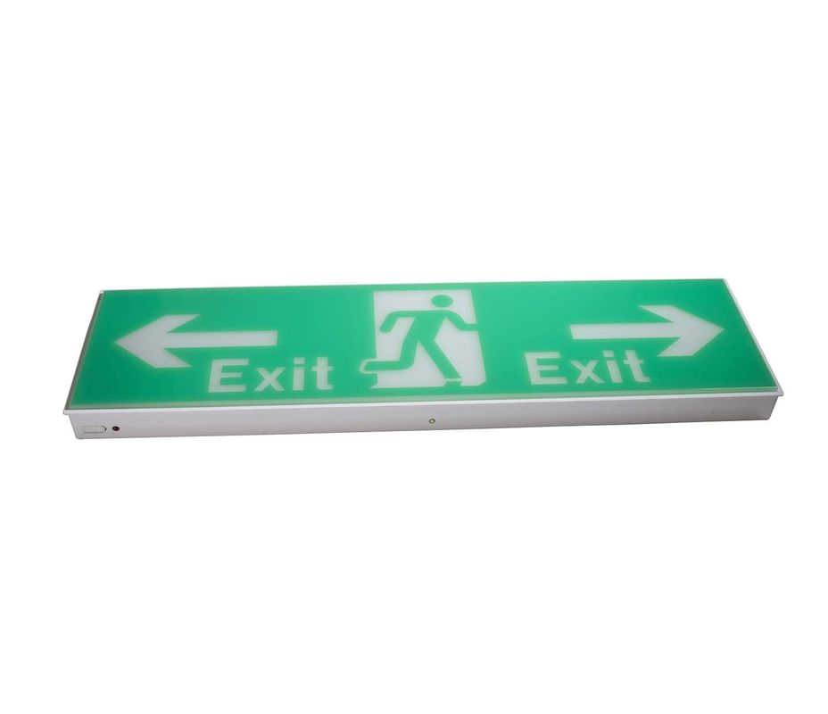 China Wall Surface Mounted SMD LED Emergency Exit Sign, Plastic Runing Man Exit Sign factory