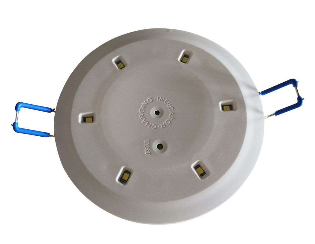 LED SMD Ceiling Emergency Light , Rechargeable Recessed Battery Emergency Lamp