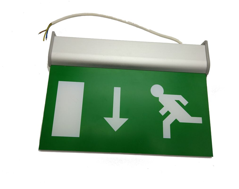 Commercial Battery Operated Aluminum Exit Sign for Teaching Buildings
