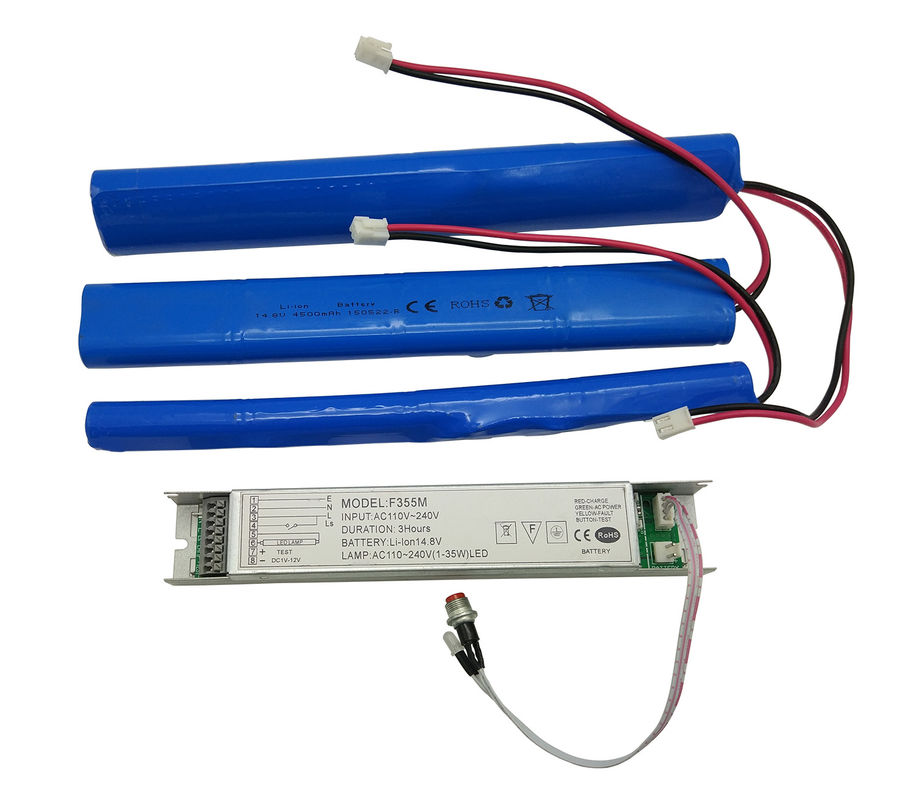 China Li-ion Battery Rechargeable Emergency Conversion Kit with 1-3hour Emergency Time factory