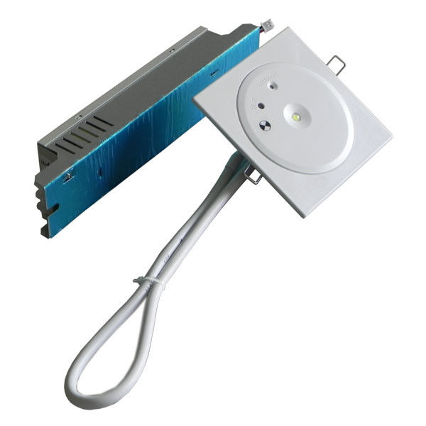 Customized Battery Operated LED Recessed Ceiling Emergency Light 50Hz / 60Hz (EL1X1AN) supplier