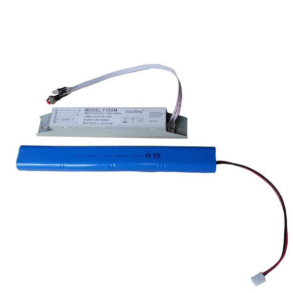 Battery Operated Non Maintained Emergency Light Power Supply 220V-240V 50/60Hz
