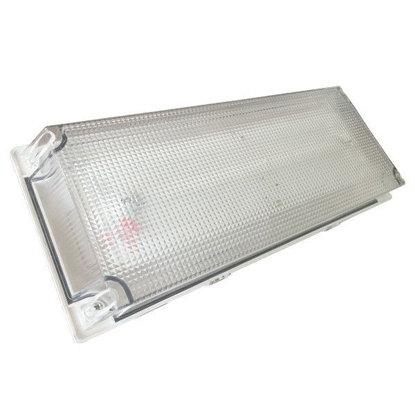 Outdoor Emergency Lighting Fixtures, Waterproof Emergency Charging Light with Fluorescent Tube